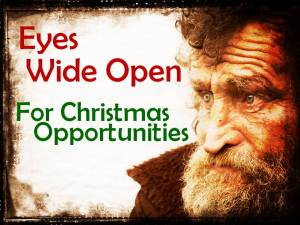 Christmas and homeless